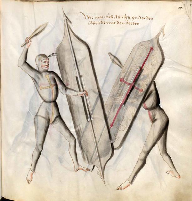 008-Kal Paulus Fechtbuch gewidmet dem Pfalzgrafen Ludwig- BSB Cgm 1507- Bayerische StaatsBibliotehek