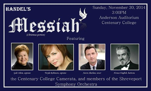 Performance of the Messiah, Centenary College, Shreveport