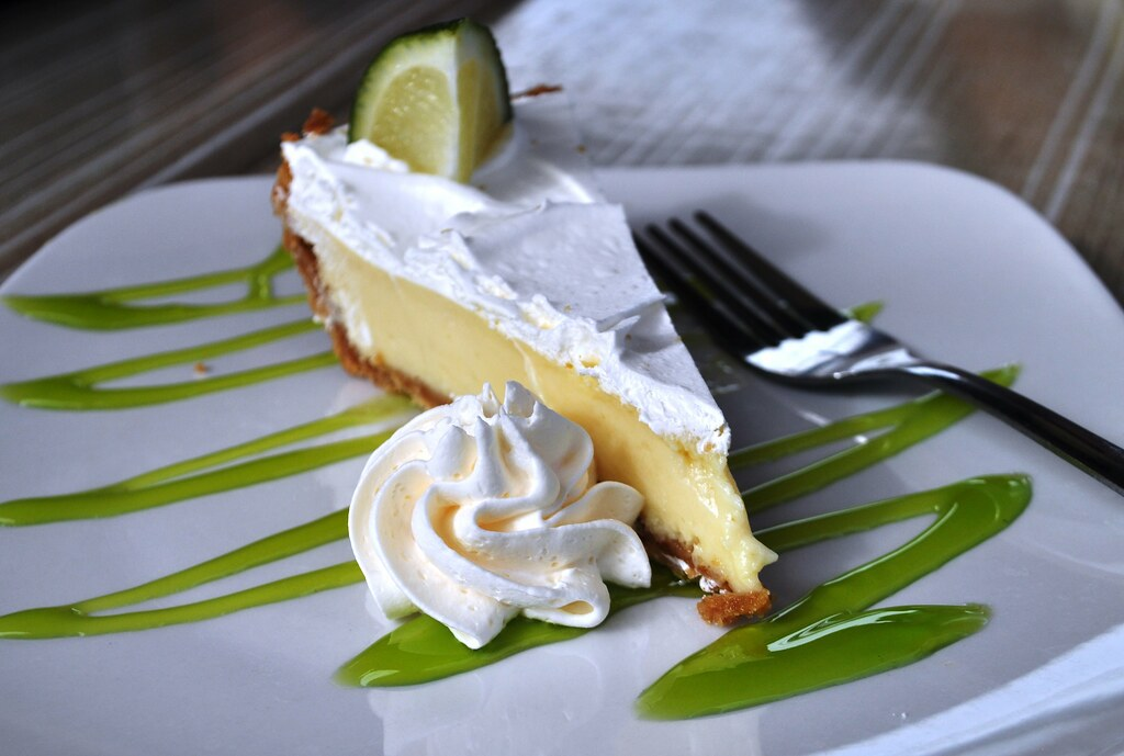 Colee's Key Lime Pie - Lunch at Rusty's Seafood & Oyster Bar - Cape Canaveral, Florida, Nov. 8, 2014