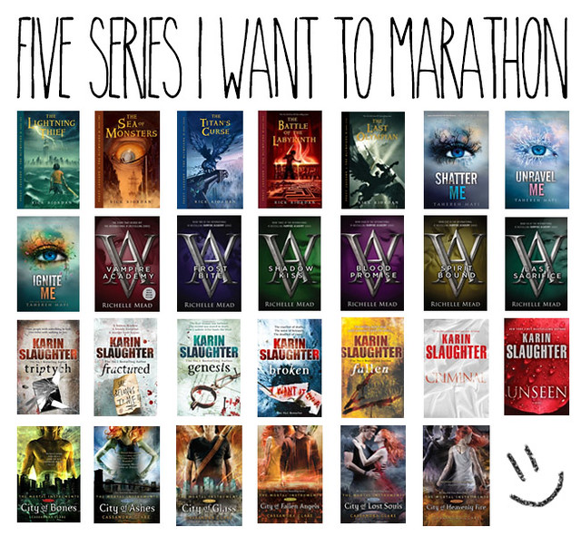 5 book series I want to marathon