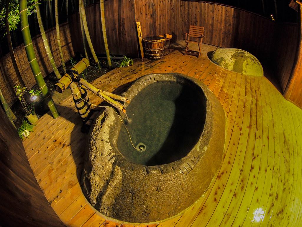 Japanese Open-Air Bath