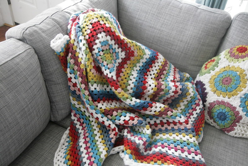 One giant granny square