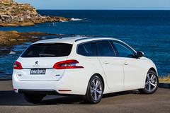 sedan(0.0), automobile(1.0), automotive exterior(1.0), peugeot(1.0), peugeot 308(1.0), executive car(1.0), family car(1.0), wheel(1.0), vehicle(1.0), compact car(1.0), land vehicle(1.0), luxury vehicle(1.0),
