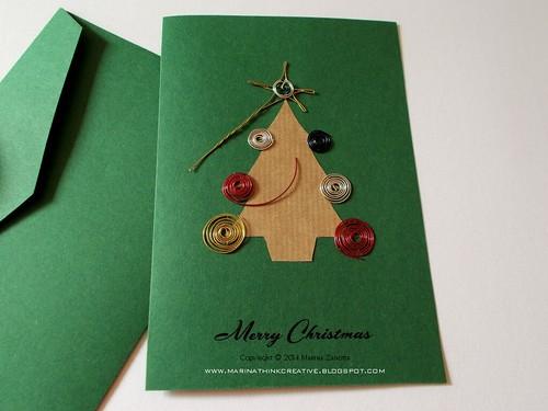 Biglietto di Natale handmade