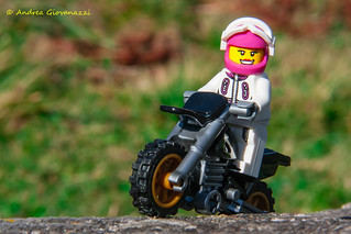 Lego Woman & Motocross