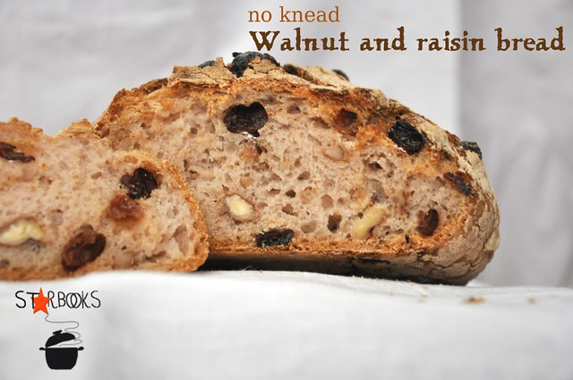 walnut and raisin bread fetta SB