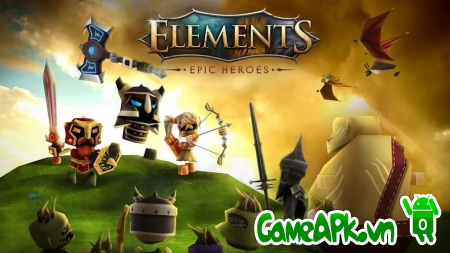 Elements: Epic Heroes v1.1.4 hack Health & Mana cho Android