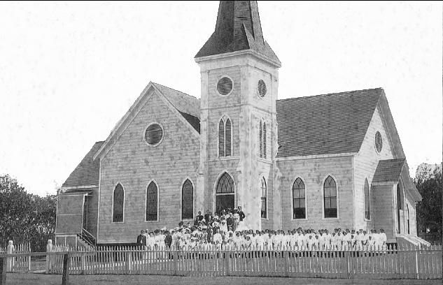 Makawao Union Church circa 1909