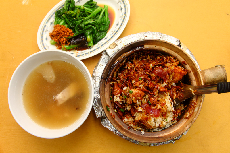 Claypot-Chicken-Rice-meal-Pudu