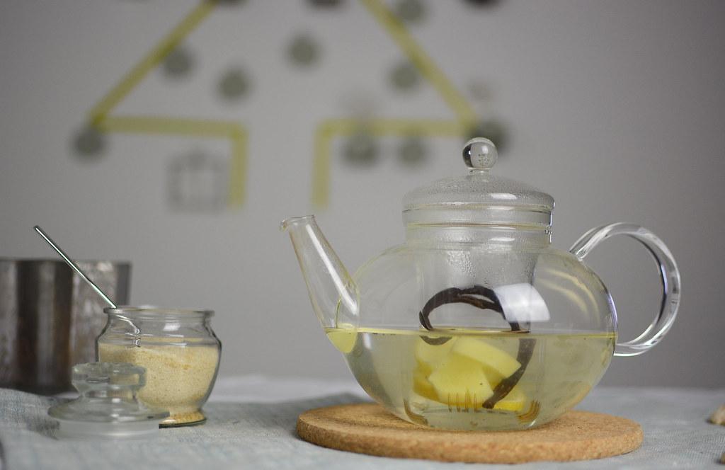 Vanille-Ingwer-Tee