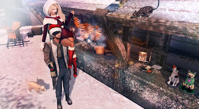 ...А я пошла и загорелого Деда Мороза нашла