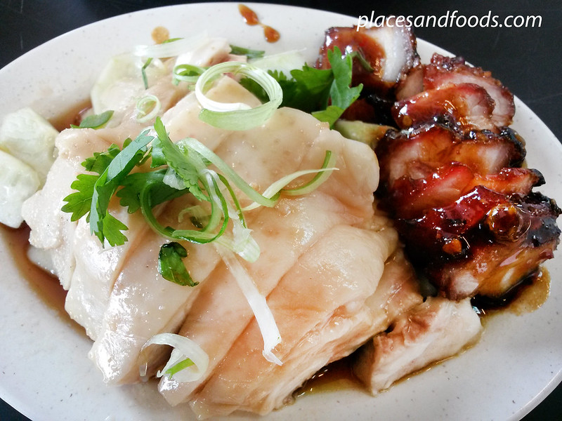 kar heong taman connaught chicken and char siew
