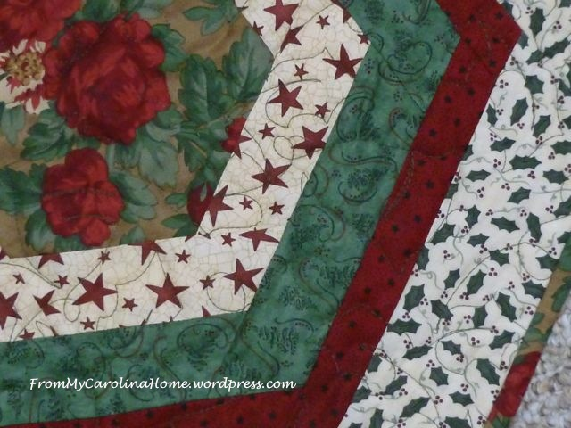 Christmas Hexagonal Table Topper 13
