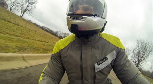 Riding SV650