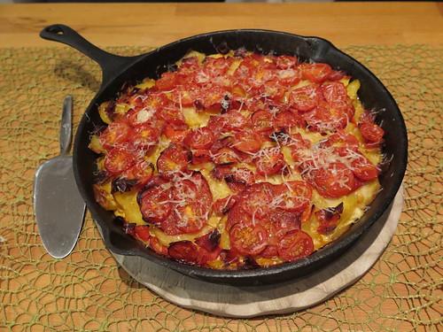 Kartoffelpfanne nach Tortilla-Art (Pfanne)