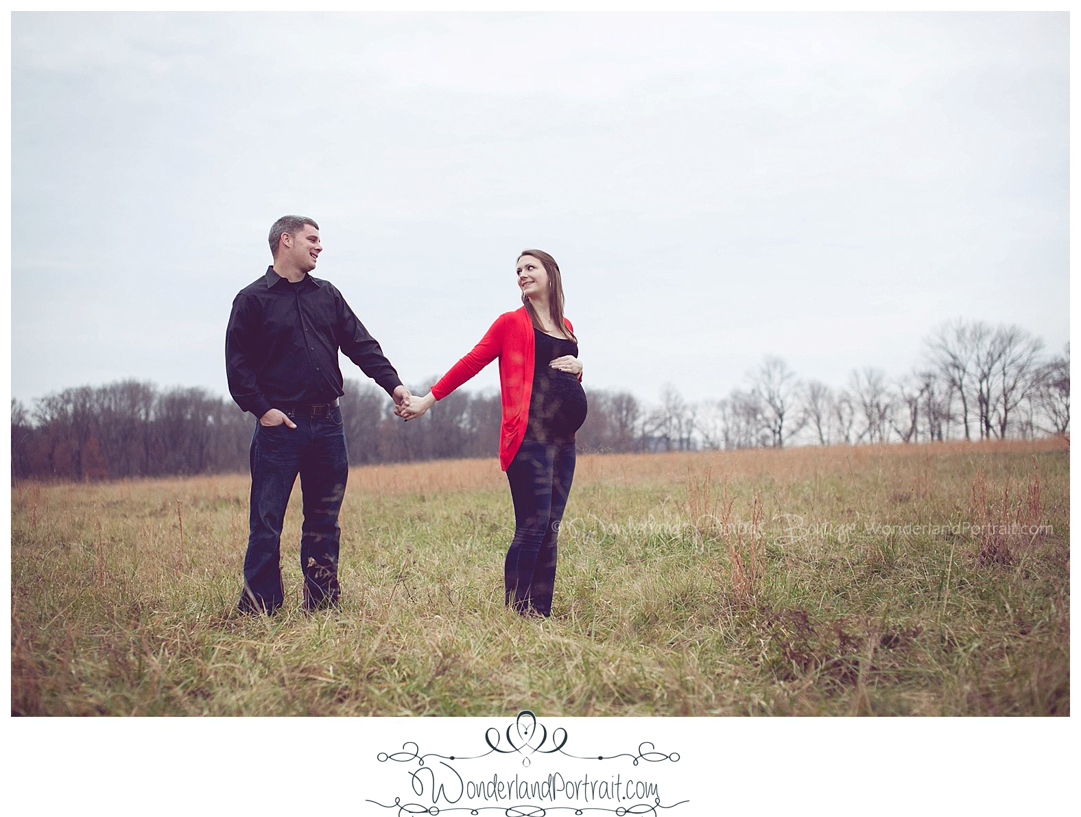 Bucks County Upper Makefield Newtown PA Maternity Pictures