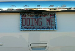 Someone Pays Money For That Personalized Plate