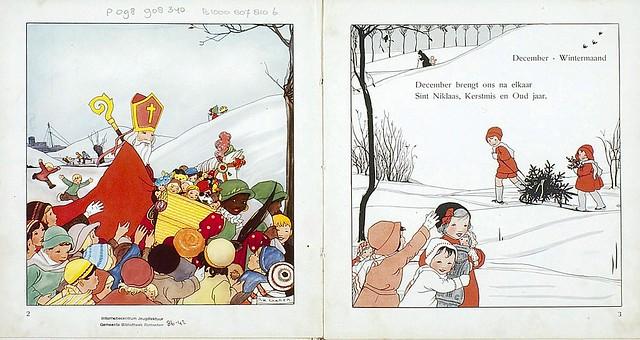 019-Mes de Diciembre dibujos y poemas de Rie Cramer