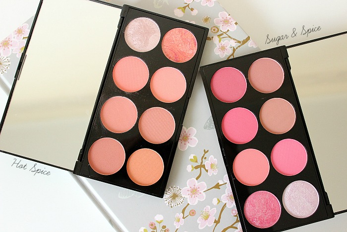 Makeup Revolution Blush Palettes - Hot Spice, Sugar & Spice