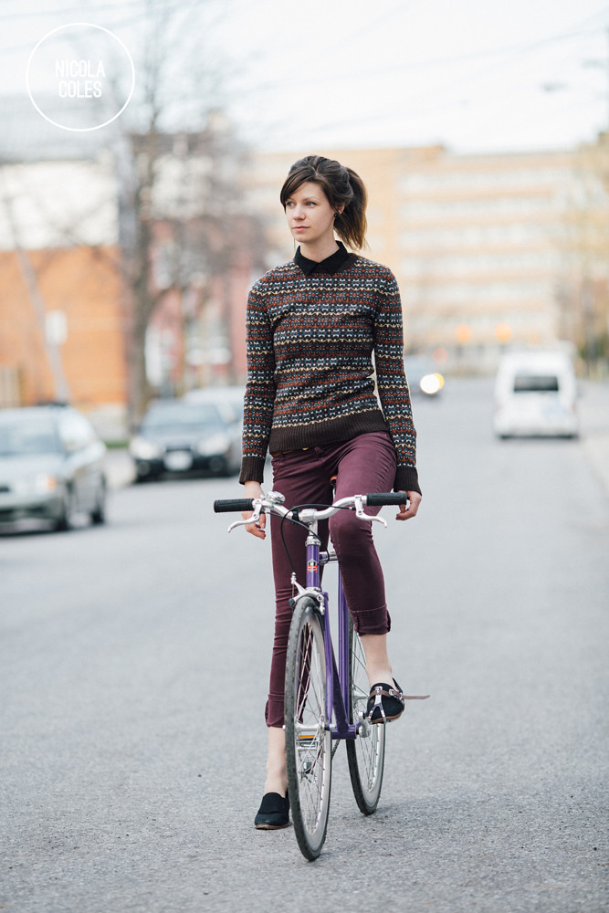 Nicola Coles and her Bicycle 1