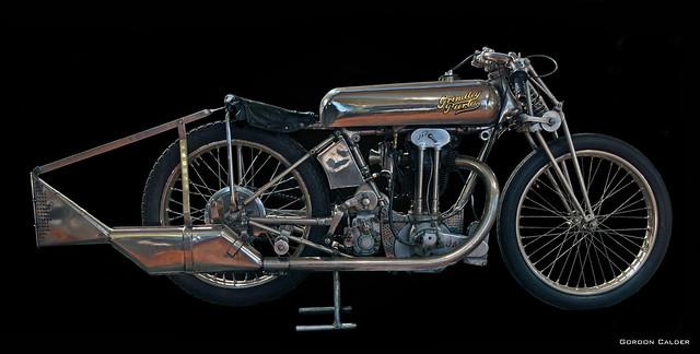 """Edmond """"Boy"""" Tubb's 1929 500cc Grindlay Peerless"""
