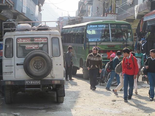 Annapurna Trek: Day 12 Jhinu Danda to Pokhara