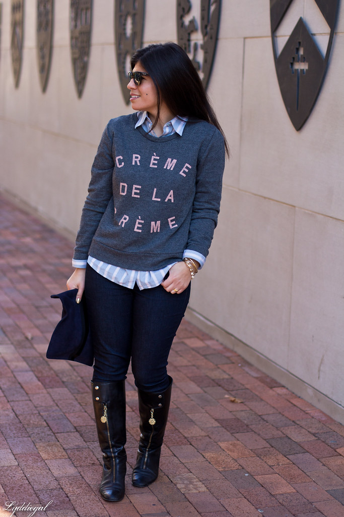 creme de la creme sweatshirt, striped shirt-5.jpg