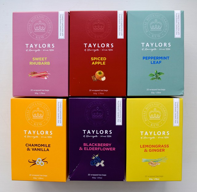 Taylors of Harrogate Kew Gardens Fruit & Herbal Teas