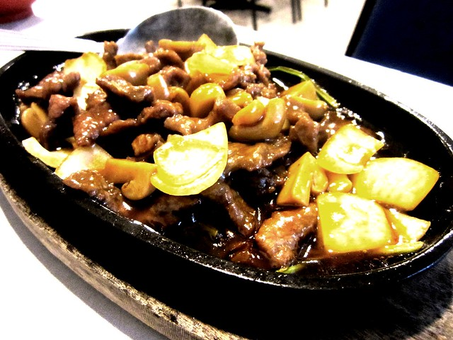 Nice House sizzling beef 1