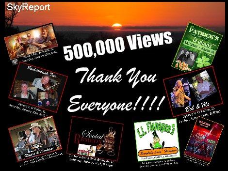 SkyReport 500,000 Views