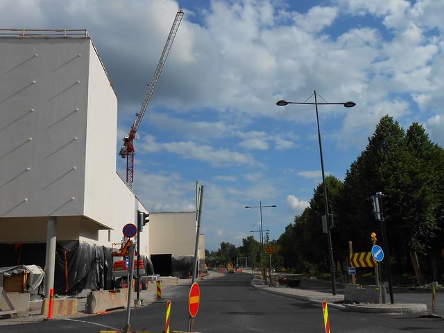 Hämeenlinnan moottoritiekate ja Goodman-kauppakeskus: Työmaatilanne 23.6.2013 - kuva 7