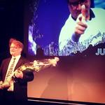 """#PokerAwards 2014 Vuoden pokerinaama: Juhani """"administeri"""" Tyrisevä! Casino Helsinki onnittelee.  #casinohelsinki #chpokeri #pokeri"""