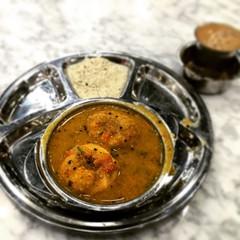 sambar-vada & masala chai