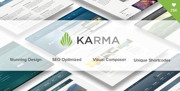 Karma v4.8.1 – Responsive WordPress Theme