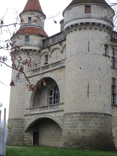 Château de Grignols (XVe, XVIe, XIXe), Grignols, Landes de Gascogne, Gironde, Aquitaine, France.
