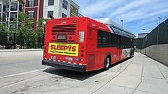 WMATA Metrobus New Flyer C40LF #2449