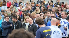 Protest for Scotland to Remain Part of the EU.  Scottish Parliament, 29th June 2016
