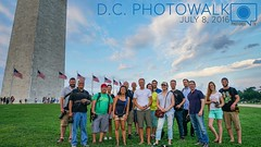 Group shot from the a very fun Photowalk in DC Last night. Thanks to all who came out and wandered around the monuments, chatting about cameras, photography, life etc.  Participants should tag photos from the even  Would you like to join a future photowal