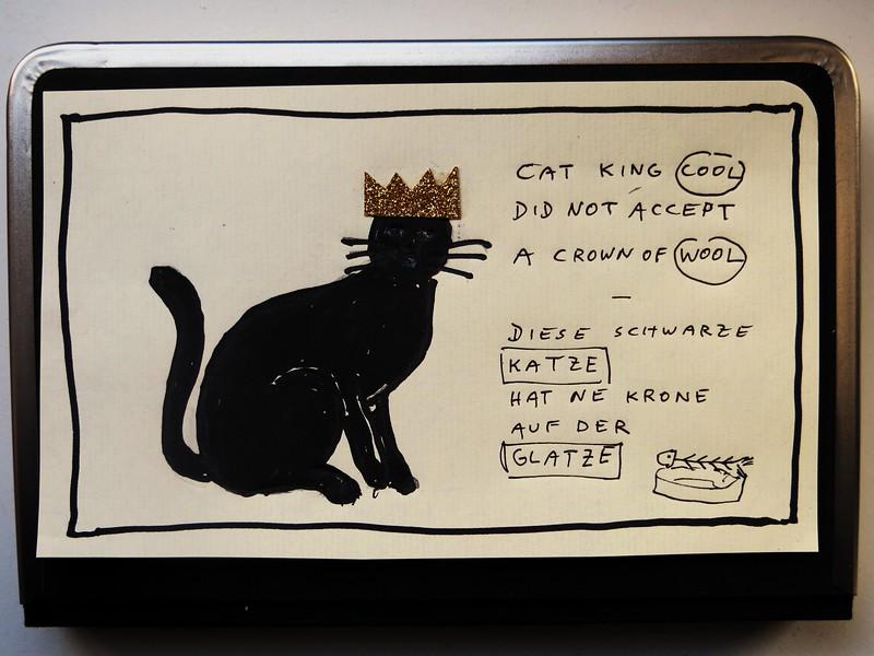 cat king cool