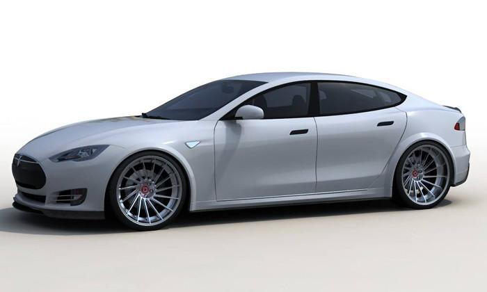 """RevoZport Tesla Model S """"R-Zentric"""""""