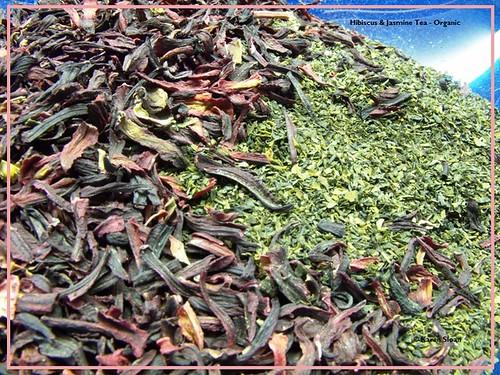 Hibiscus & Jasmine loose leaf #tea