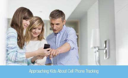 Parent tracker cell phones