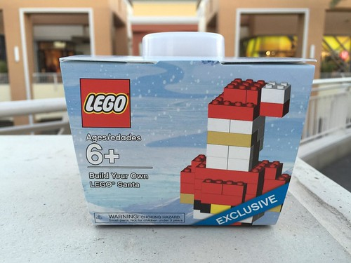 Build Your Own LEGO Santa - Brick Friday/Cyber Monday