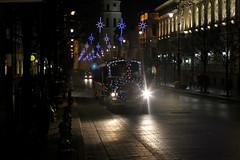 Kalėdinis traukinukas Gedimino prospekte