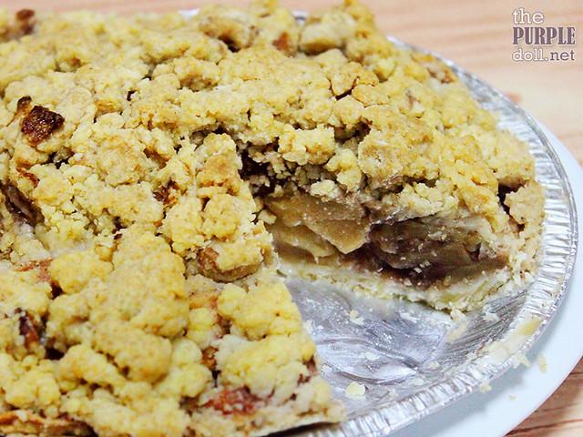 Beehive Pastries Apple Crumble