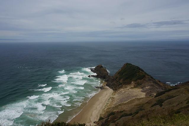 Cape Reinga, northwest tip of New Zealand