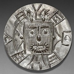 Picasso silver medal obverse