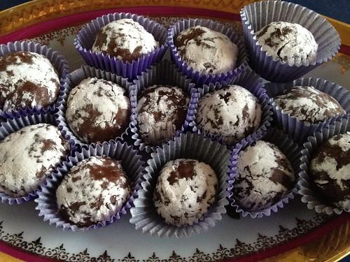 Truffes chocolat spéculoos