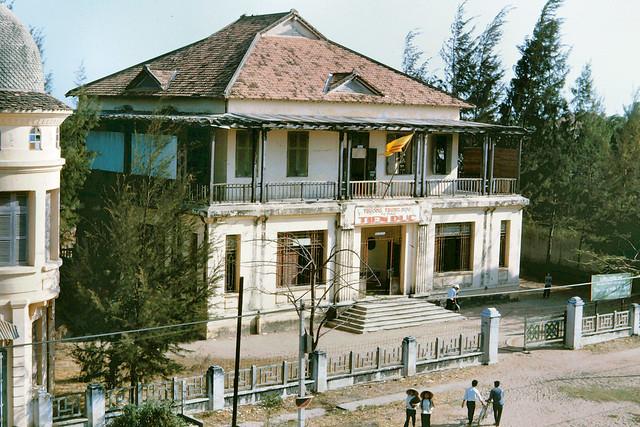 Phan Thiet 1965 - High School. Trường Trung học. Photo by John Hansen