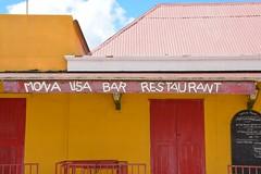 Main street at Kralendijk (Bonaire 2014)